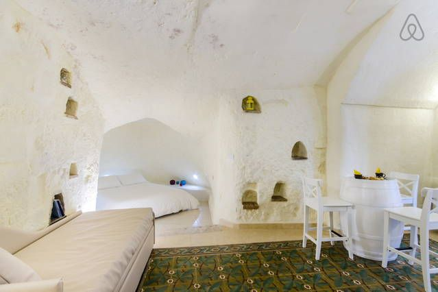 Matera $91/night short list good reviews - Get $25 credit with Airbnb if you sign up with this link http://www.airbnb.com/c/groberts22