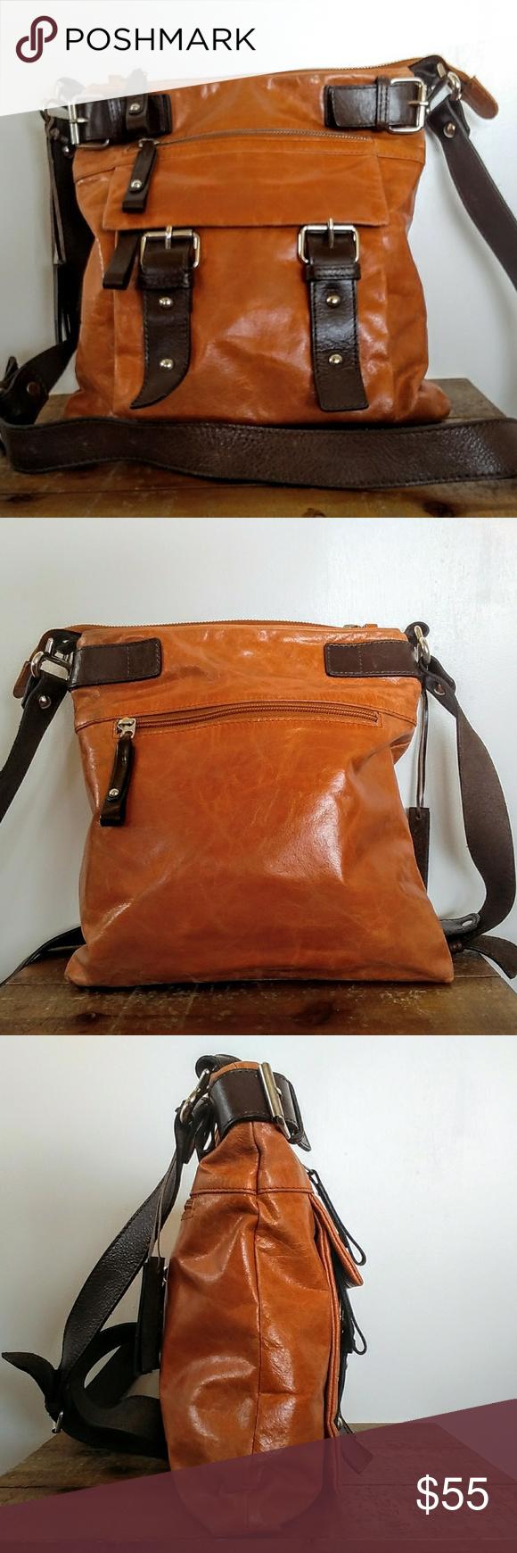 ba36c236b812 Tano Leather Crossbody Bag Gorgeous leather crossbody from Tano