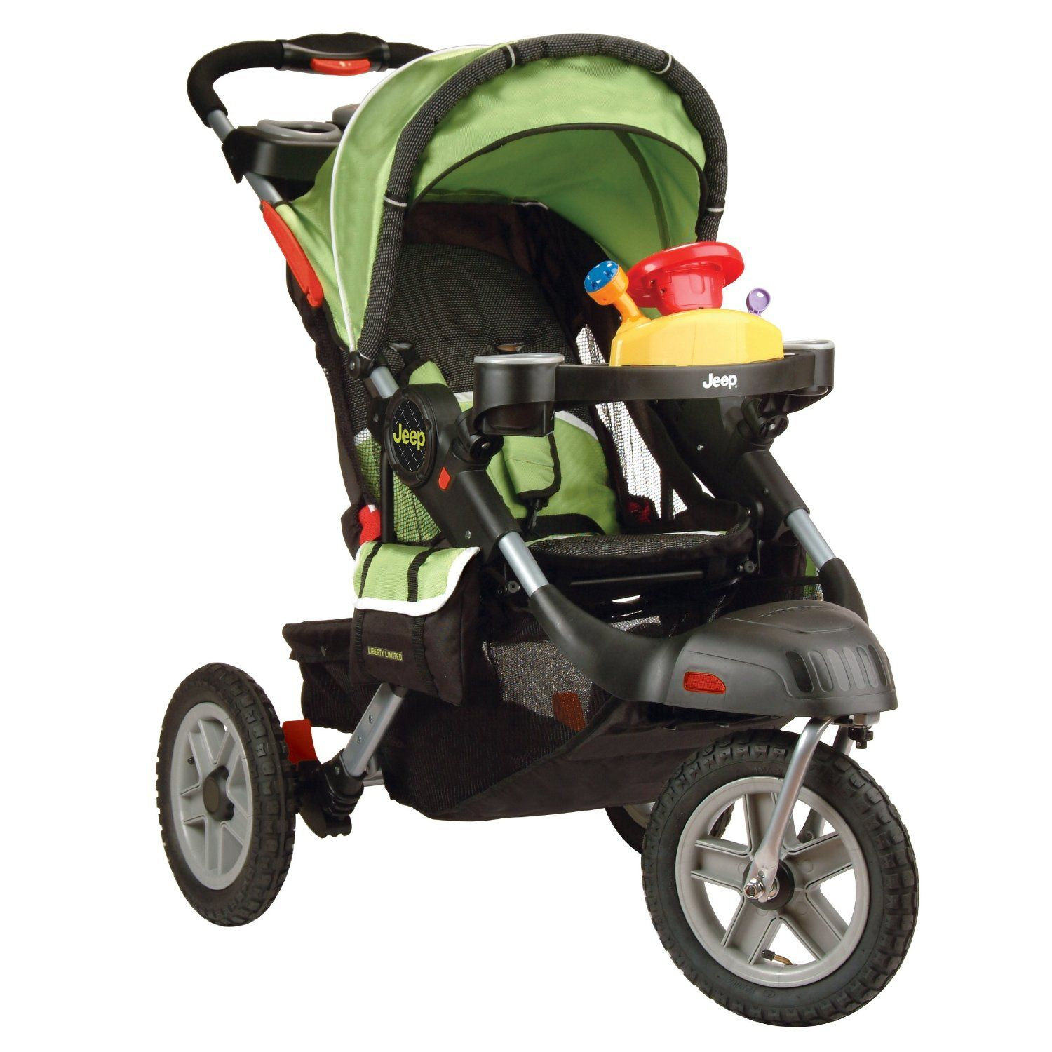 Jeep Liberty Limited Urban Terrain Stroller Spark Baby Jeep