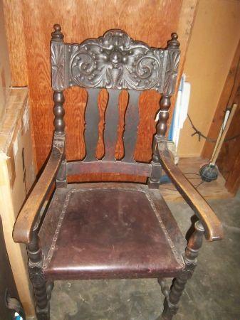 victorian arm chair - $50 (walnut creek)   Chair, Dining ...