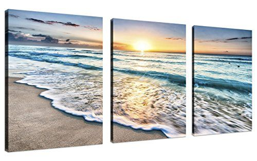 Pin By Danielle Wilcox On Mom And Dads Beach Canvas Wall Art