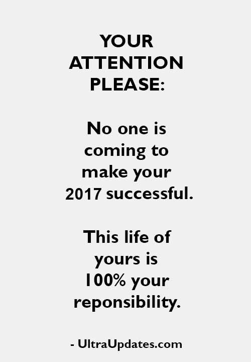 success new years quotes 2017 | Happy New Year 2 U | Pinterest ...