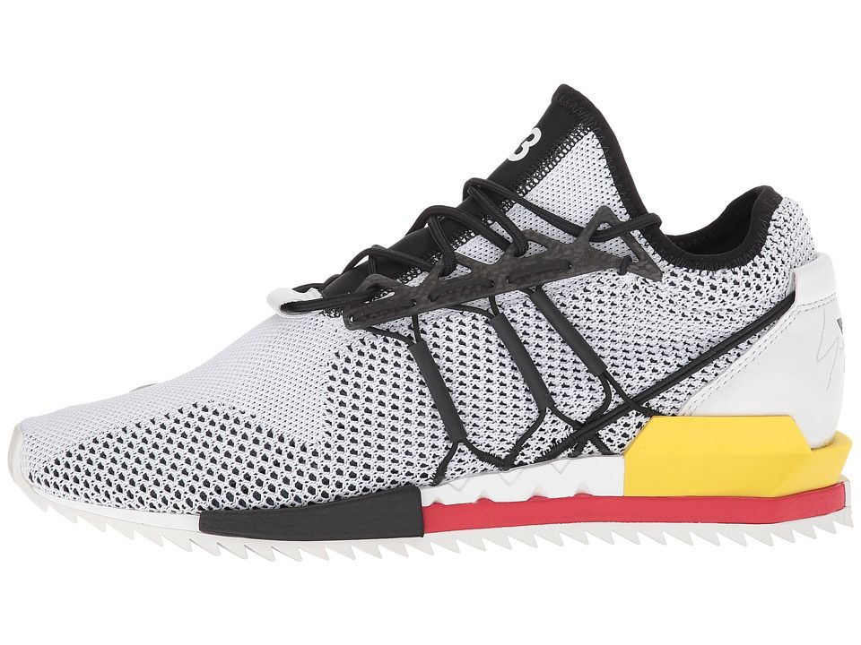 20db784791131 adidas Y-3 by Yohji Yamamoto Harigane Athletic Shoes White Black Y-3 Lush  Red