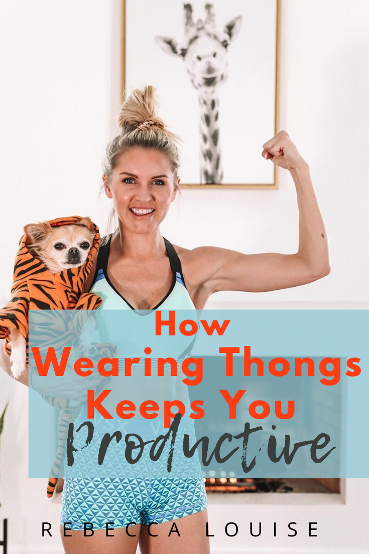 How Wearing Thongs Keeps You Productive in 2020 | Workout