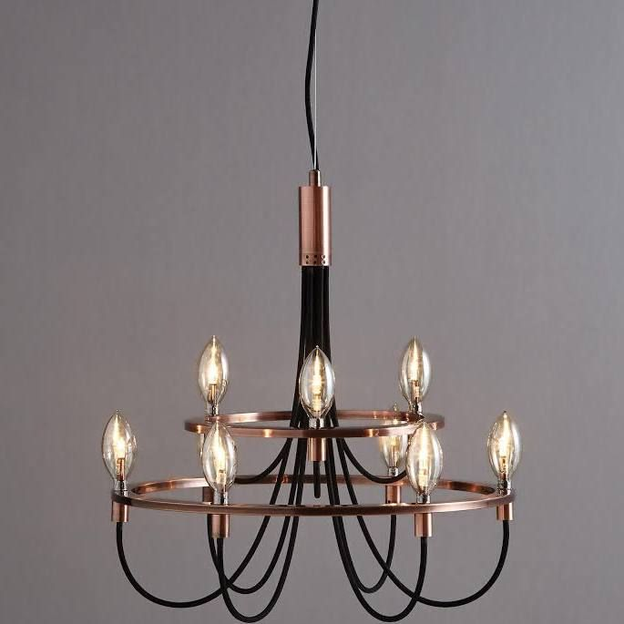 black lighting for dining table | Lighting, Ceiling lights ...