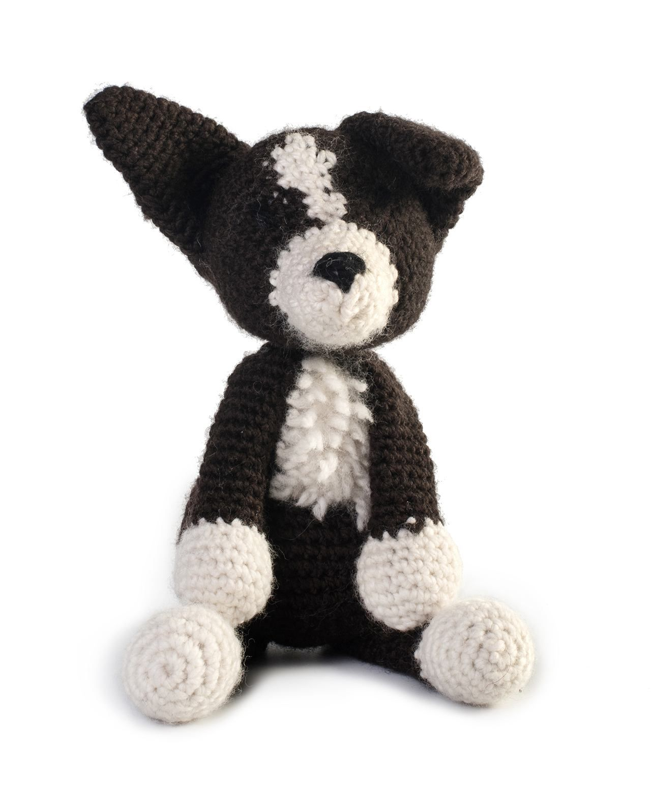 Toft Jed the Border Collie amigurumi crochet kit | crochet | Crochet