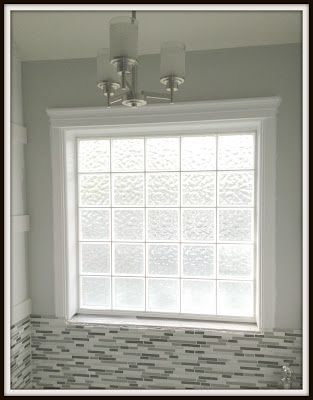 Who Doesn T Have One Of These Gl Block Windows In Their Bathroom E On Over To See How Dress It Up And Make A Gorgeous Thi
