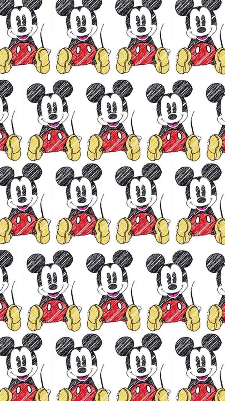ミッキーマウス Mickey Mouse 04 無料高画質iphone壁紙 ディズニーの