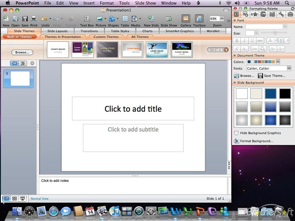 Microsoft powerpoint x for mac Powerpoint, Microsoft