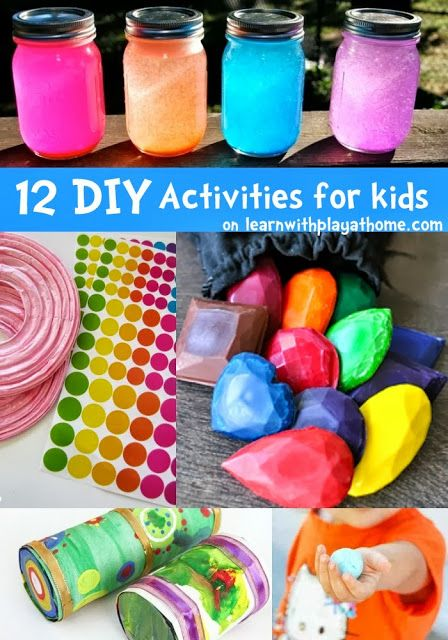 12 Fun Diy Activities For Kids Crafts For Kids Craft Activities