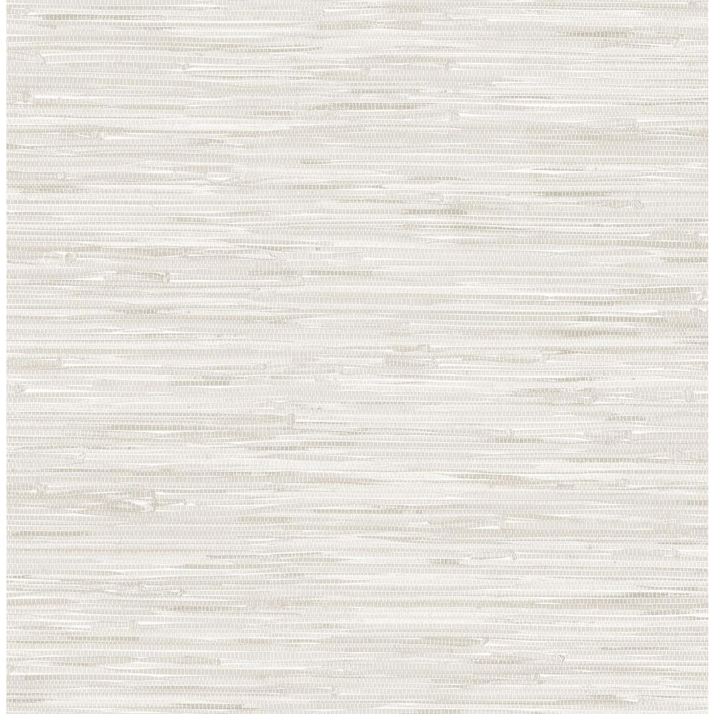 NuWallpaper Cream Grassweave Vinyl Strippable Wallpaper