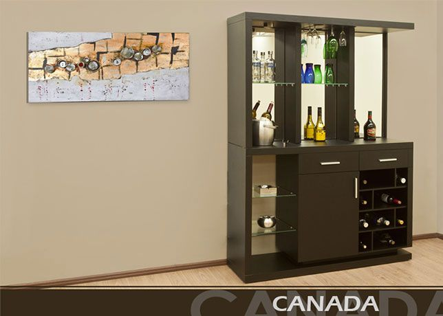 Interim bel muebles y decoraci n bares y trinchadores - Mueble bar moderno ...