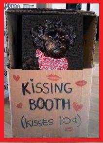 Happy Valentine's Day - This would be a great fund raiser for a kennel club or rescue agency!