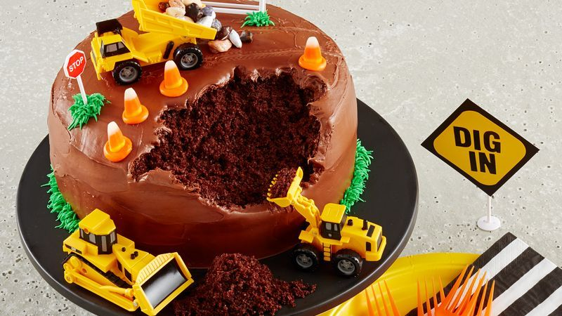Construction Site Cake Recipe In 2020 Cake Cakes For Boys