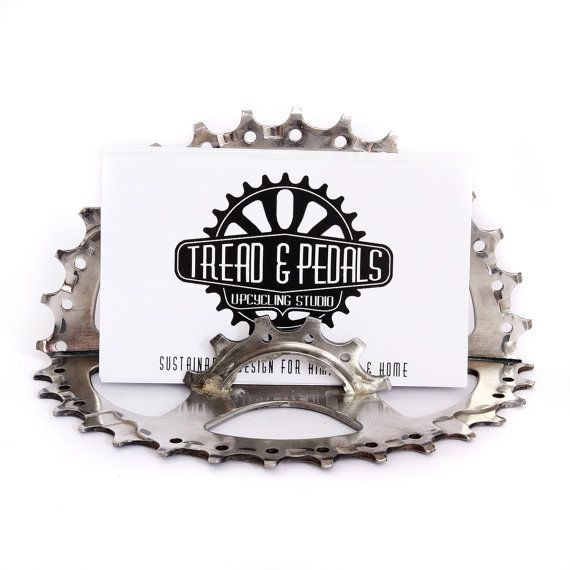 Bike business card holder cycling gift for cyclist recycled bike business card holder cycling gift for cyclist recycled bicycle parts cycling gifts bicycle gifts tread and pedals colourmoves Choice Image