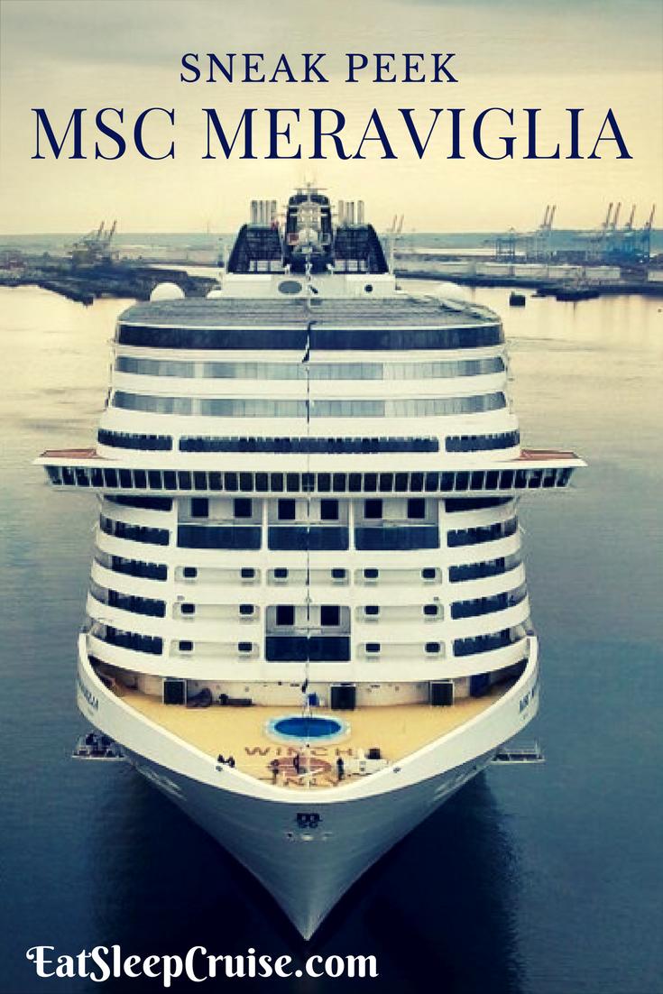 A Sneak Peek Inside Msc Meraviglia Msc Cruises Newest Ship Msc Cruises Cruise Ship Italian Cruises