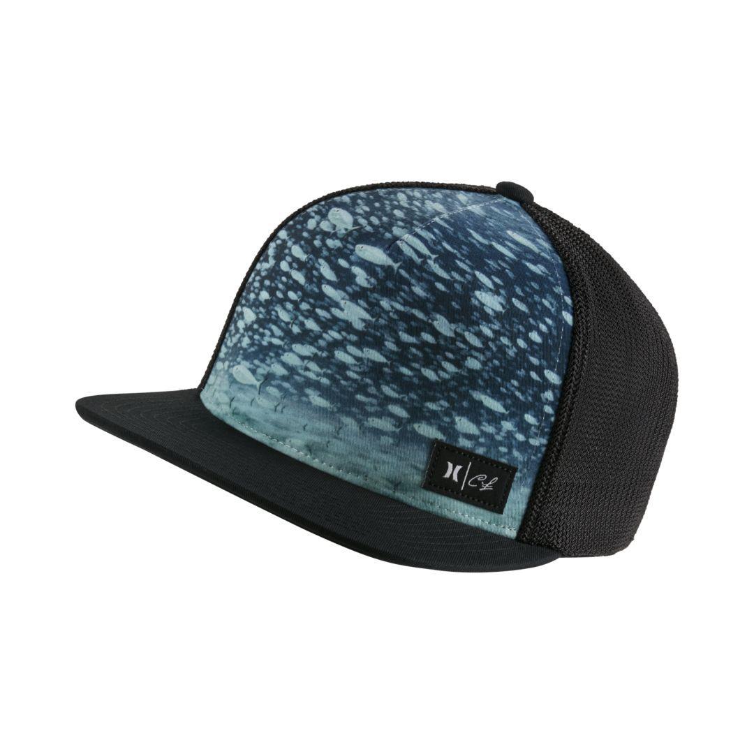 One Size Black Hurley Mens Local Snapback Baseball Cap