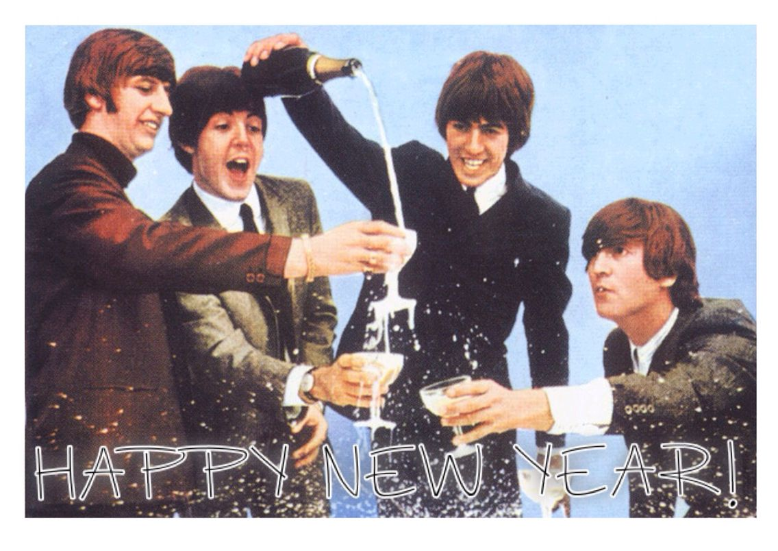 Image result for beatles happy new year images