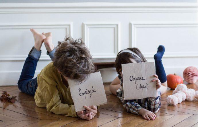 À propos des étiquettes que l'on colle aux enfants... Et comment les décoller!