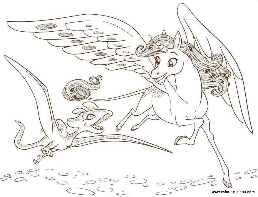 Resultado De Imagem Para Desenhos Para Colorir De Unicornios Com