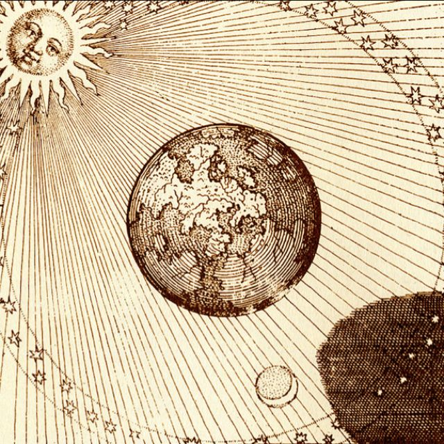 Alchemy - yep this is how it really is... geocentric