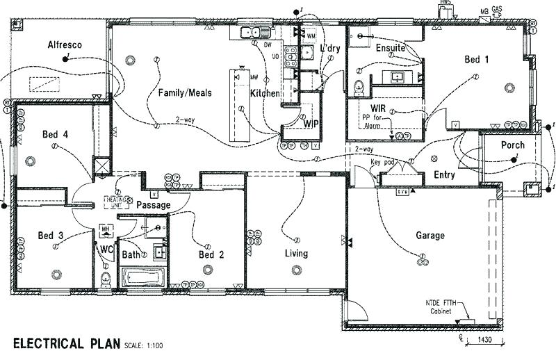 Electrical Plan For House Electrical Plan New House Electrical Plan House Software Electrical Plan House Plans House Wiring