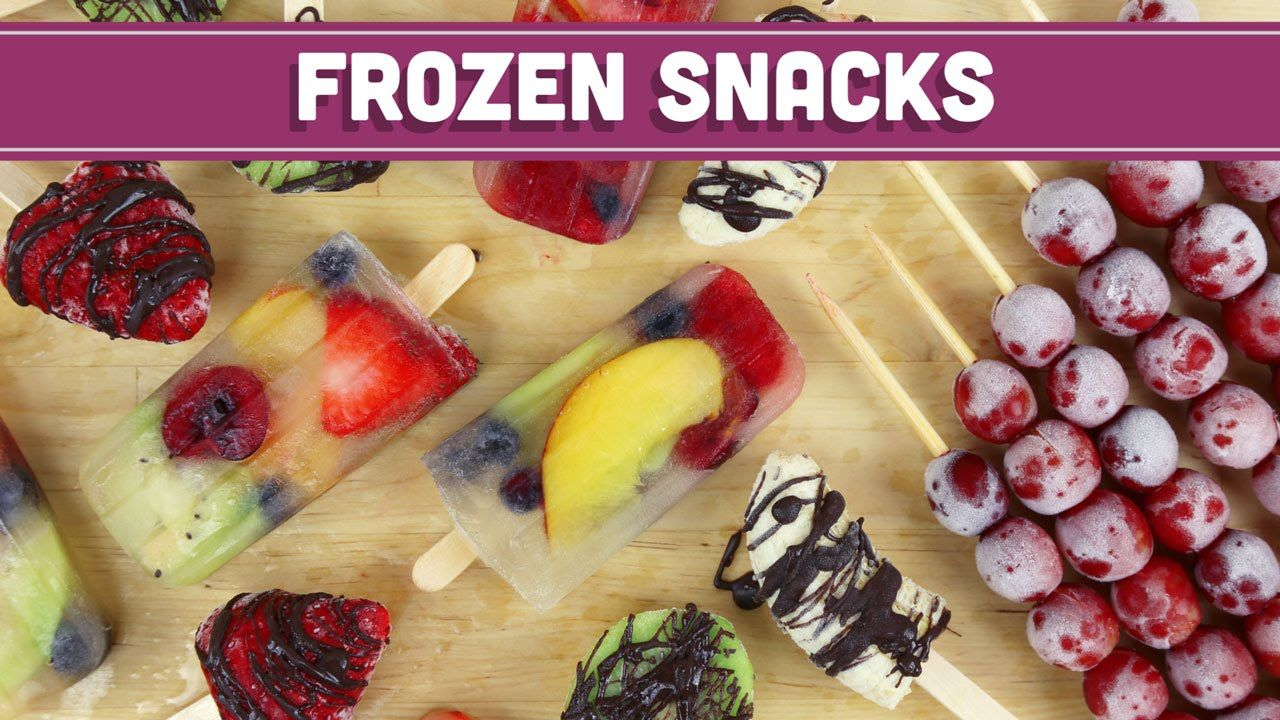 How to Snack on Frozen Fruit
