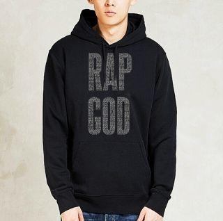 D-12 Logo Hoodie Hip Hop Sweatshirt Vintage Rap Eminem Slim Shady Revival New