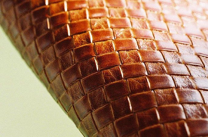 Woven Faux Leather Upholstery Fabric Leather Upholstery Fabric