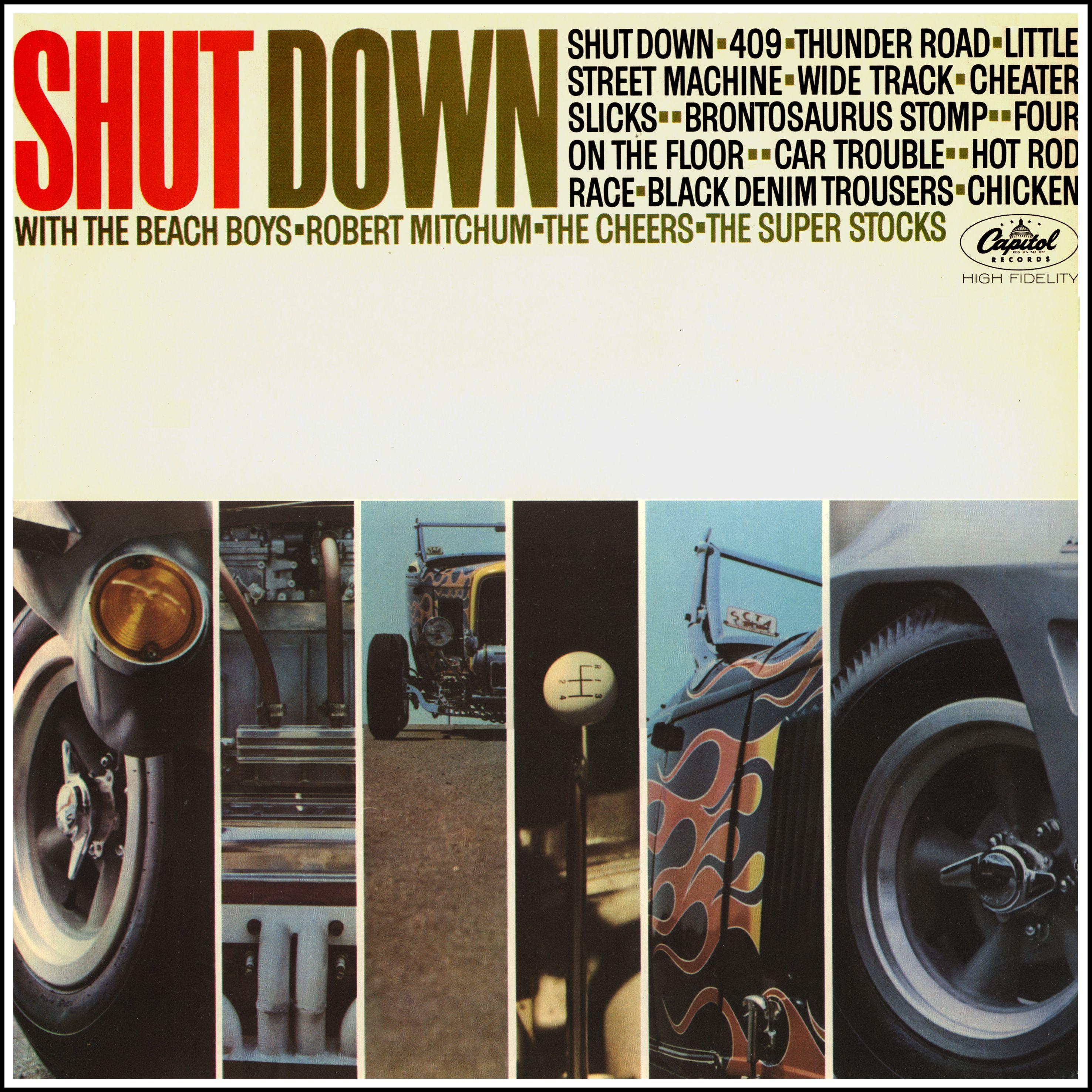 """Shut Down"" (1963, Capitol). A various artist compilation"