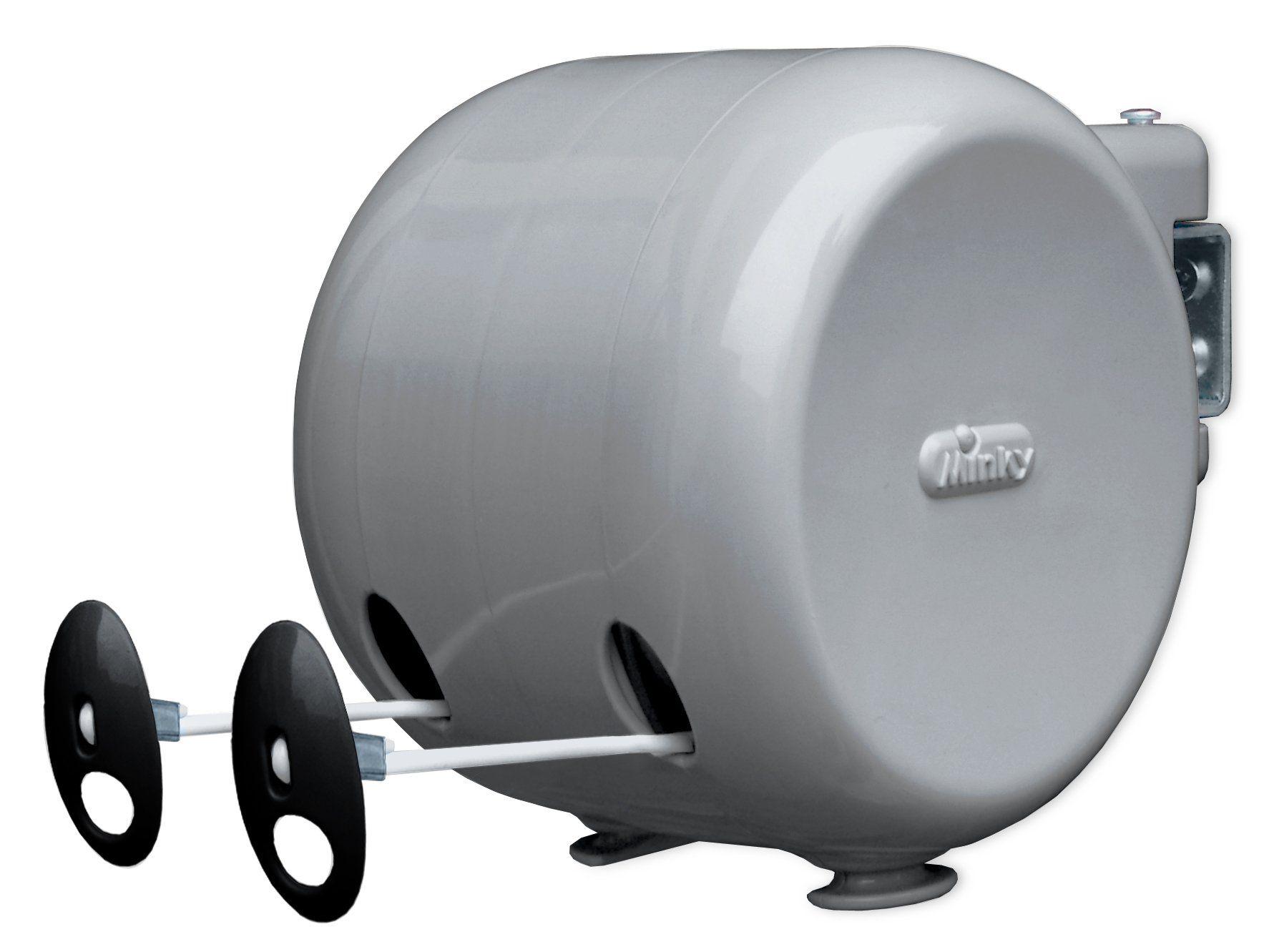 minky retractable reel outdoor dryer 98 feet line drying space