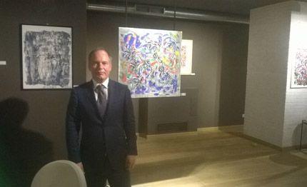 """Pittura: Roma la mostra """"La Vie en Rose"""" a Le Carré Français"""