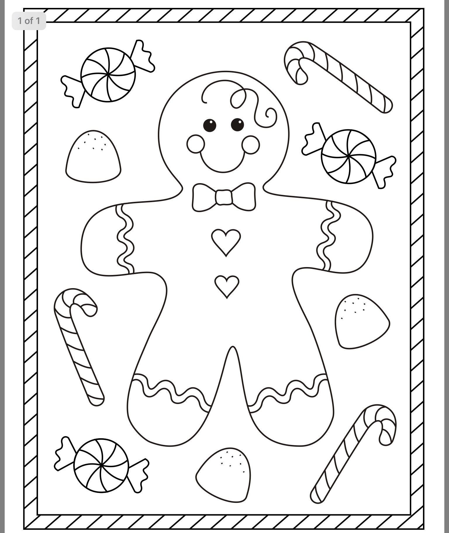 Free Christmas Coloring Pages Image By Laura Gentle On