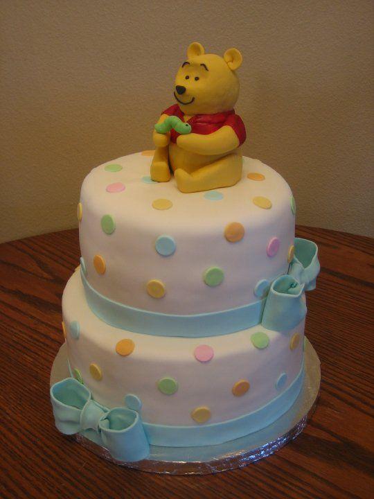 Baby Shower Cake. Winnie The Pooh ...