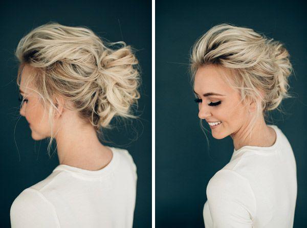 Ashlee Short Wedding Hair Messy Wedding Hair Short Hair Updo