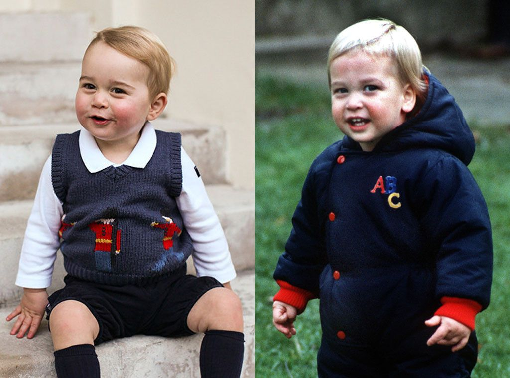 Prince William Looks Just Like Prince George in His Childhood Pic ...