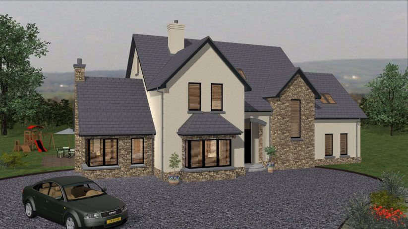 Apartments irish house plans ie type ts youtube story storey also best design images in country homes gable roof rh pinterest