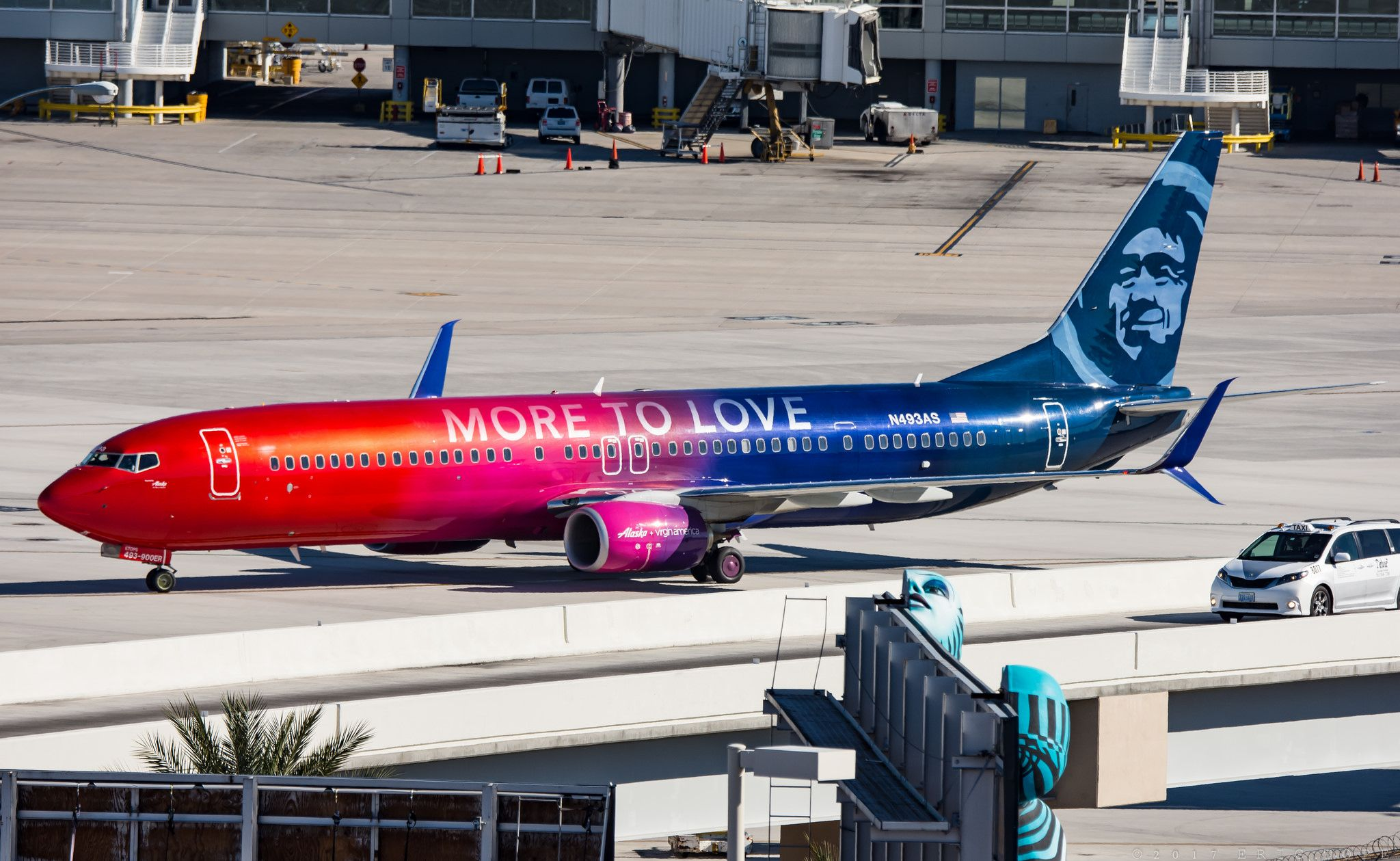Alaska (More to Love Livery) - Boeing 737-990ER - N493AS | Favorite