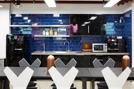 Atrium co-working space by Tom Dixon and Design Research Studio in London, UK