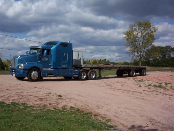18 Wheeler Flatbed Trailers Bing Images With Images Flatbed