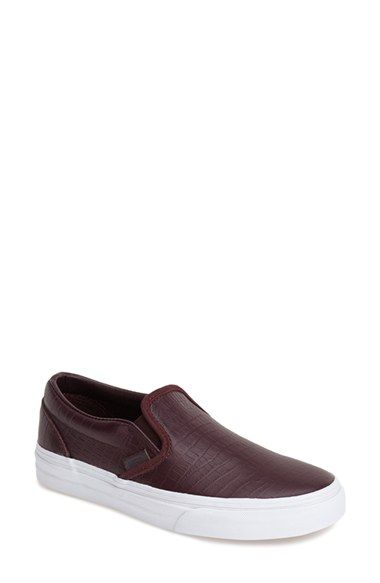 6a425f10a68357 Vans  Classic - Croc Embossed  Slip-On Sneaker (Women) available at   Nordstrom