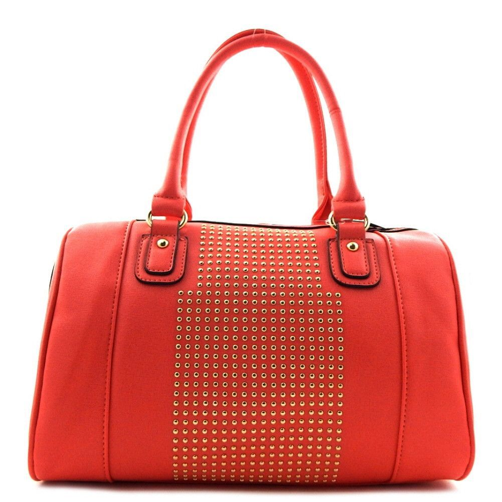 Fashion Tote With Stud Detail