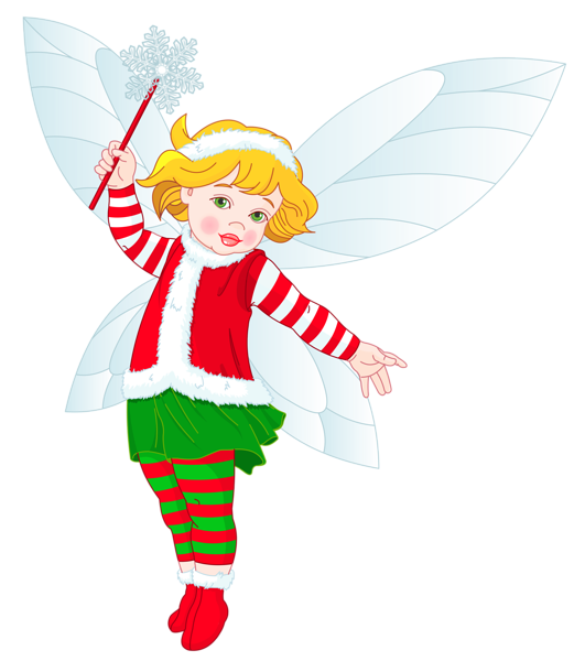 Transparent Christmas Elf Clipart | Fairies & Other Fae ...