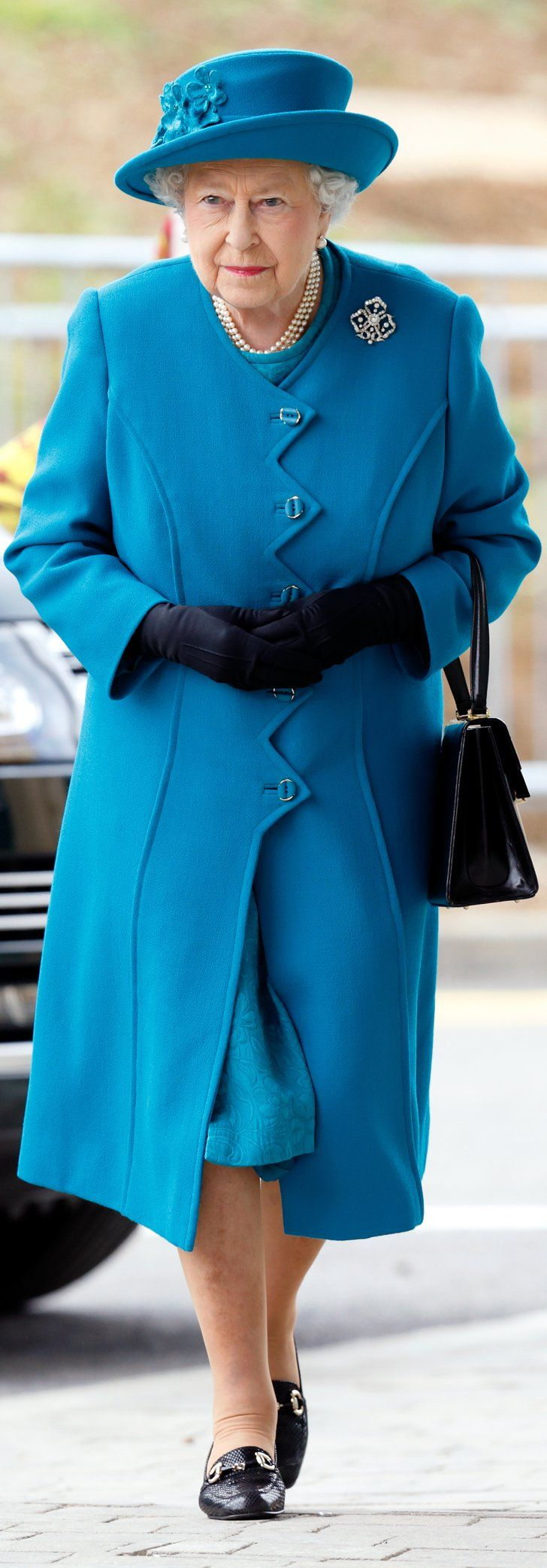 This Is Queen Elizabeth's October Coat —Seriously, She Wore It Exactly 1 Year Ago