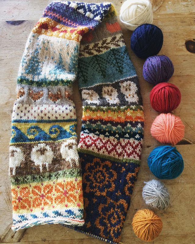This is the most beautiful knitting I\'ve ever seen! Scandinavian ...