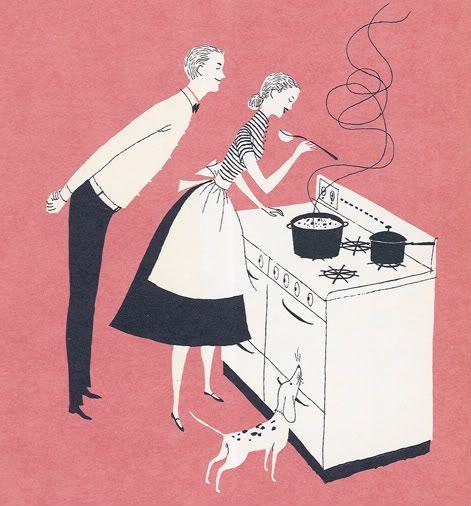 #retro #vintage kitchen