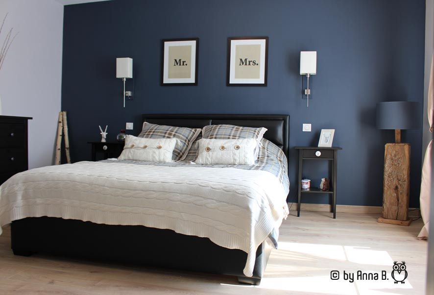 Peinture  place au grand bleu déco Pinterest Bedrooms
