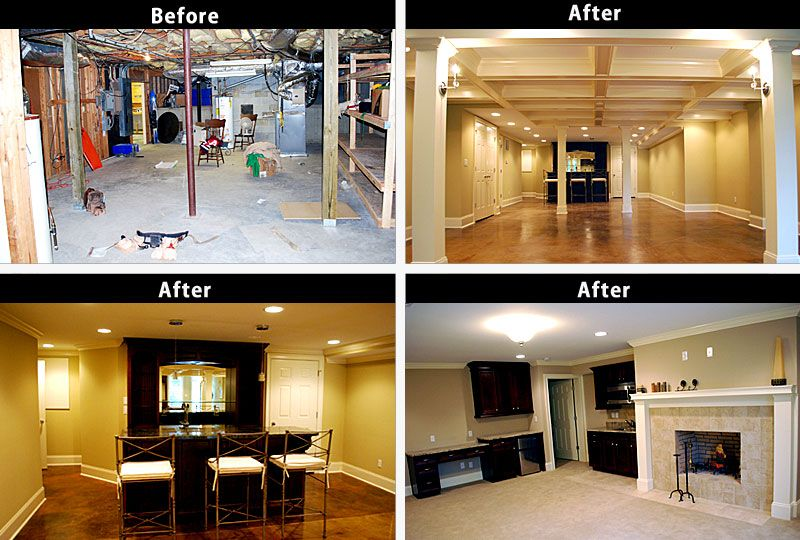 10 Inspirational Basement Remodels Before After. Budgeting For Basement  Remodelling Costs! | Basement Remodeling