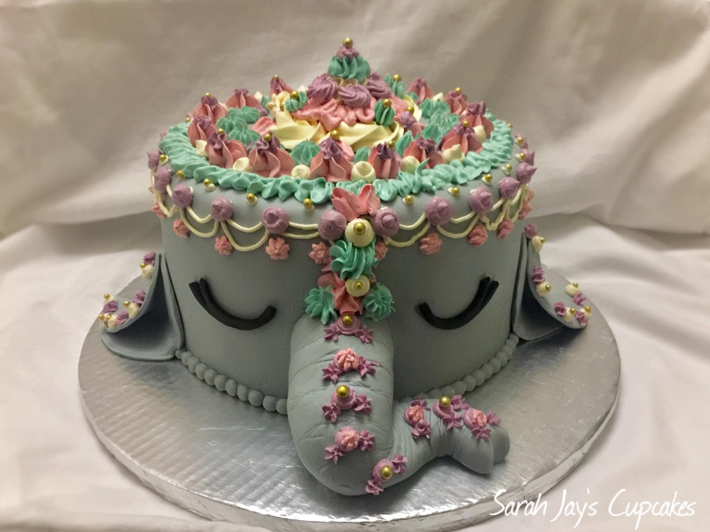 [HOMEMADE] Elephant princess cake for a kids birthday