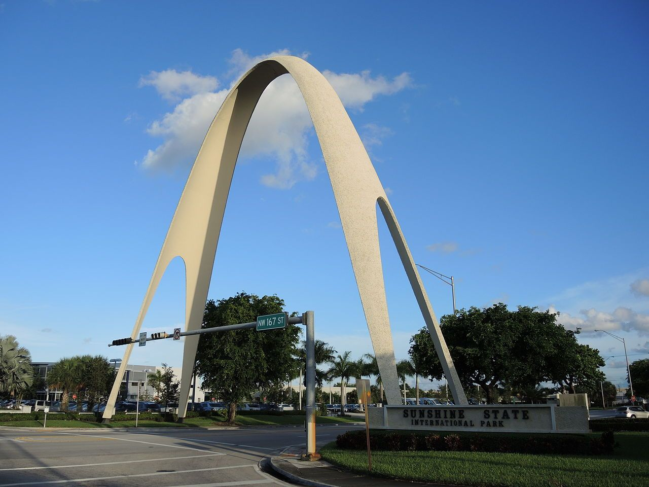 Sunshine State Arch in MiamiDade County, Florida
